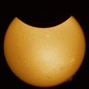 Solar Eclipse 10/6/2021,                                Carsten Dosche