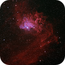 IC 405 Flaming Star Nebula  (New acquisition, QHY268c),                                Alan Brunelle