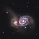 M 51 Whirlpool Galaxy,                                Alessandro Merga