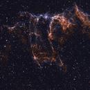 NGC 6992 - 4 panel mosaic in HOO,                                Derek Mellor