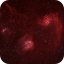 Sharpless in Auriga -- Sh2-229 (Flaming Star), Sh2-236 (Tadpoles), Sh2-234 (The Spider) and Sh2-237 (The Fly),                                G400