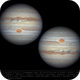 Jupiter 21 Jun 2018 - 4 min derotation,                                Seb Lukas
