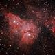 NGC3372 - Central region.,                                Marcelo Alves