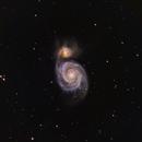 M51 Whirlpool Galaxy,                                Rajeev