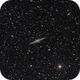 NGC 891 from the 2019 BFSP,                                Matthew Abey