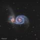 M51 - La galaxie du tourbillon,                                Séb GOZE