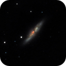 M82 - 20210429 - Celestron C6 at F4.6 - Against all odds!,                                altazastro