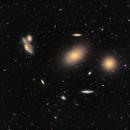Markarian's Chain  - M84, M86,                                Elvie1