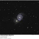 M51 - The Whirlpool Galaxy,                                Joe Gilker