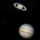 Saturn and Jupiter, on the same night,                                Samuel Müller