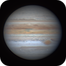 First Jupiter image of the 2021 apparition,                                Niall MacNeill