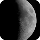 Moon - a shot with a deep sky kamera,                                equinoxx