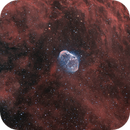 Crescent nebula in bicolor,                                Bruce