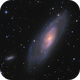 M106 with friends,                                meeus