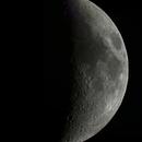 Waxing Crescent Moon,                                UlfG