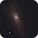 M31 (Orion 8 inch first light test),                                James H.