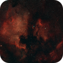 NGC 7000 and IC 5070 North American and Pelican Nebulas,                                r.smith65585
