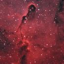 Elephant's Trunk Nebula (HOO) (crop),                                NeedMoreCoffee