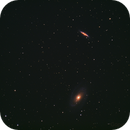 M81-M82 and the little one,                                PaskEyes