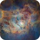 M8 - The Lagoon Nebula - Starless Hubble Palette,                                Eric Coles (coles44)