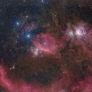 Orion Mosaic with VST,                                Tian Li 李天