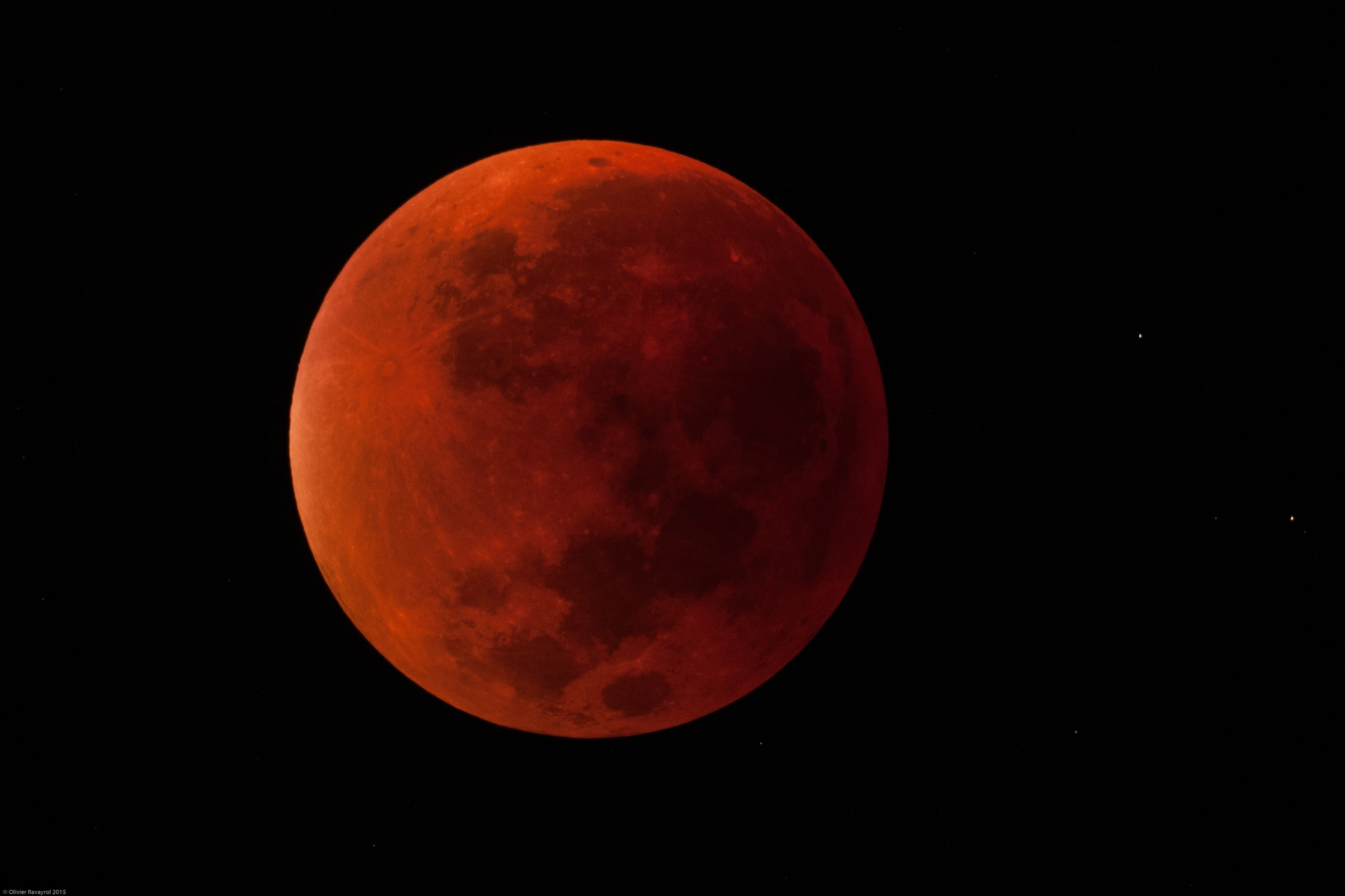 Supermoon Lunar Eclipse 2015 (totality phase),                                Olivier Ravayrol