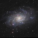 M33 - cooperation sur la galaxie du triangle.,                                Jeffbax Velocicaptor