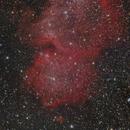 80% of IC1848 Soul Nebula,                                Mathias Radl