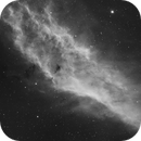 NGC 1499 In Hydrogen Alpha,                                Wesley Creech