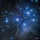 The Pleiades or Seven Sisters (M45),                                Francesco di Biase