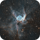 NGC2359 Thor's Helmet Bi-Colour,                                Gary Plummer