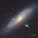 M31 - Andromeda,                                David Frost