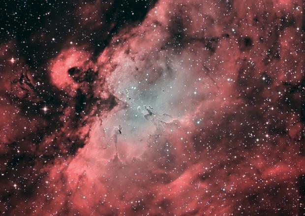 M16 Eagle Nebula in HOO,                                Arnaud Peel