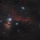 Barnard 33 - Horsehead Nebula,                                Hubble_Trouble