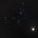 (Honest) Venus close to the Pleiades, April 2nd, 2020,                                Michael S.