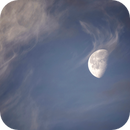 Moon and clouds,                                Andreas Hofer
