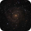 IC342 behind the dusty veil of our galaxy,                                lowenthalm