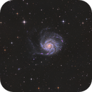 M101 - Halpha-L-RGB - ASi1600MMC,                                Jonas Illner