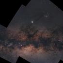Mosaic of the Milky Way Core,                                BQ_Octantis