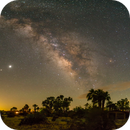 Milky Way 11 Panel Pano with Jupiter and Saturn,                                Tom Robbe