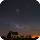 The Church of the Good Shepherd and the Southern Sky,                                Wei-Hao Wang