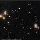 NGC 5371 & Hickson-68 Galaxy Group, 12 Jun 2015,                                David Dearden