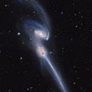 NGC4676 from Hubble,                                Benoit Blanco