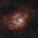 M8, la nébuleuse de la Lagune le 13 juillet 2015,                                Laurent3112