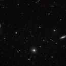 Galaxies de la Vierge NCC4552, NGC4569, NGC 4579,                                litobrit