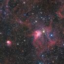 The Spider Nebula and Fly Nebula,                                Ken-ichiro Tanaka