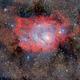 M8 - The Lagoon Nebula,                                Paolo Demaria