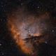 NGC281 - PacMan Nebula - HaOIII Bicolor,                                Roberto Botero
