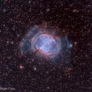 M27 Dumbbell Nebula (HOO),                                Philippe Oros