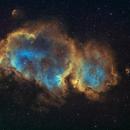 IC1848 the Soul Nebula,                                astrotf